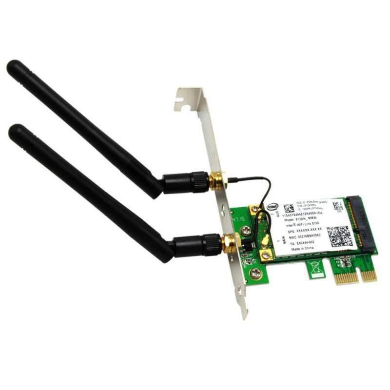 Thẻ Mở Rộng H3cmall PCIe Sang SATA3.0 Card Mạng PCI-E WiFi Băng Tần Kép 2.4/5Ghz Bộ Chuyển Đổi Không Dây...