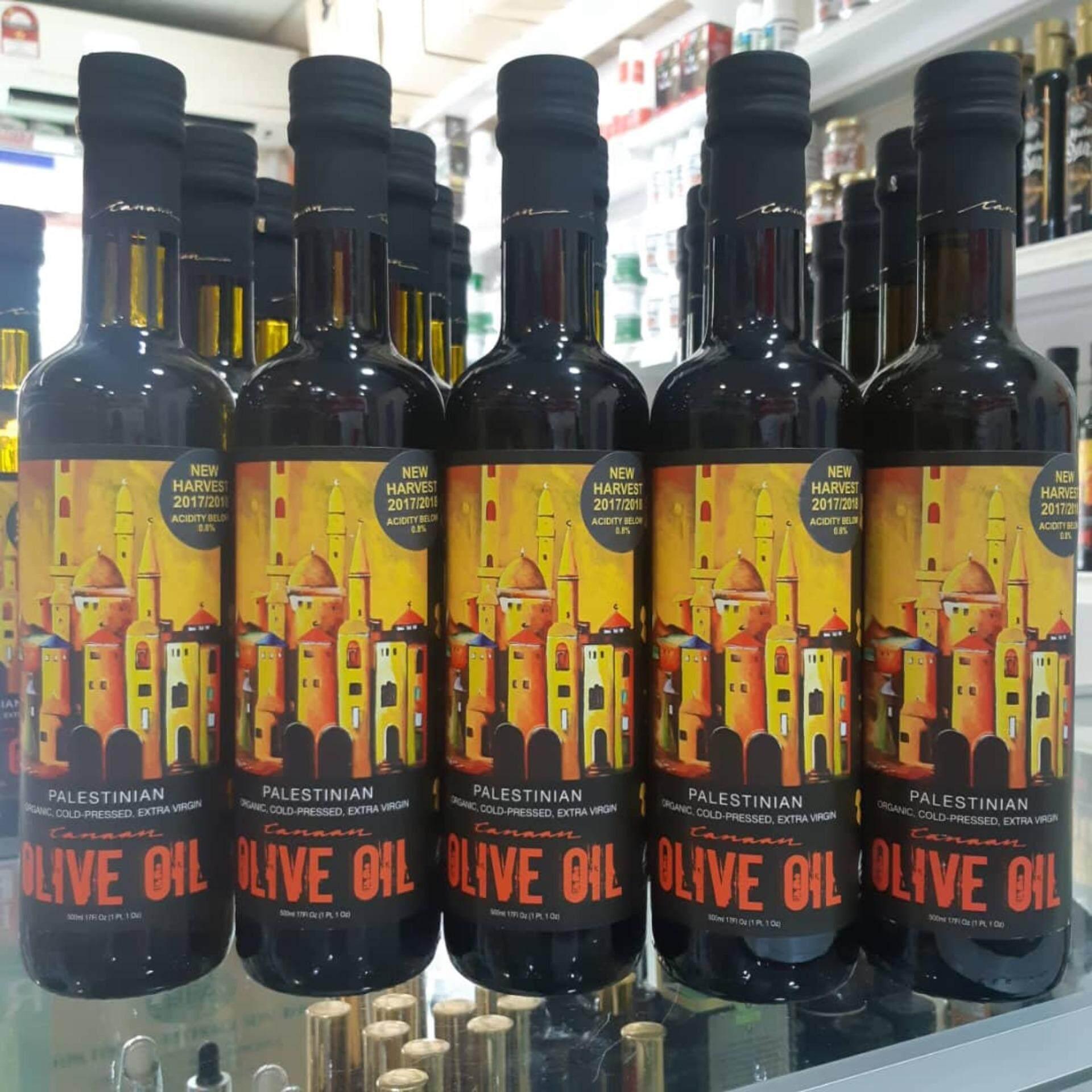 Canaan Fair Trade Palestinian Organic Extra Virgin Olive Oil POEVOO (500ml)