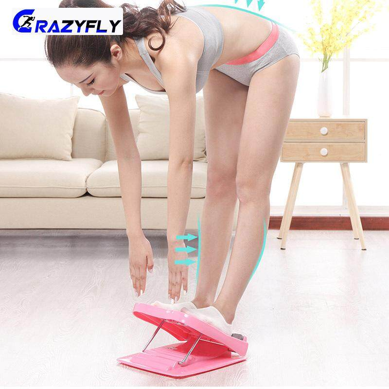 Crazyfly 1 Pcs Foot Massage Pedal Folding Stretch Standing Rib Board Slimming For Home Fitness By Crazyfly.