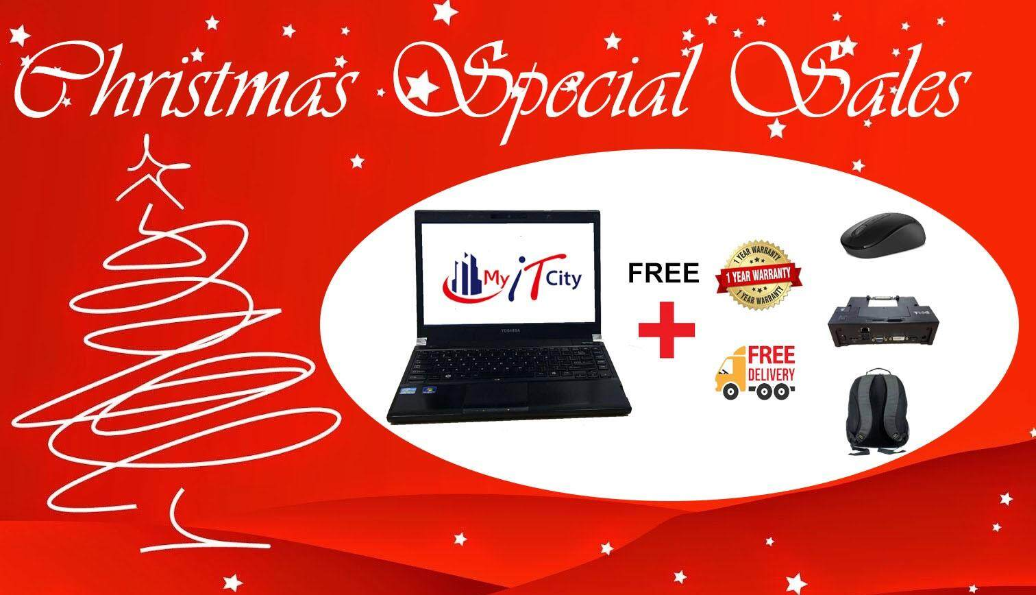 Christmas Sales - Toshiba Protege R830 - i5 / 4GB RAM / 120GB SSD / Windows 10 / 1-Year Warranty (Refurbished) Malaysia