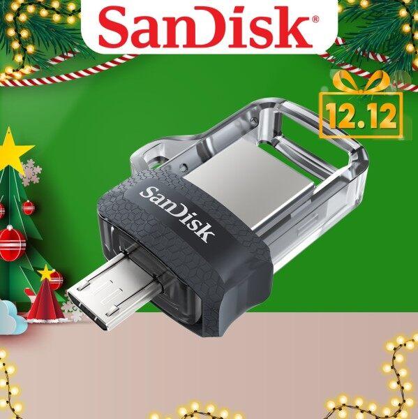 Giá Thẻ Nhớ sandisk Ultra Dual Drive 32 Gb M3.0 Otg Usb Đèn Led Cho android & Máy Tính (Sddd3-032G-G46)
