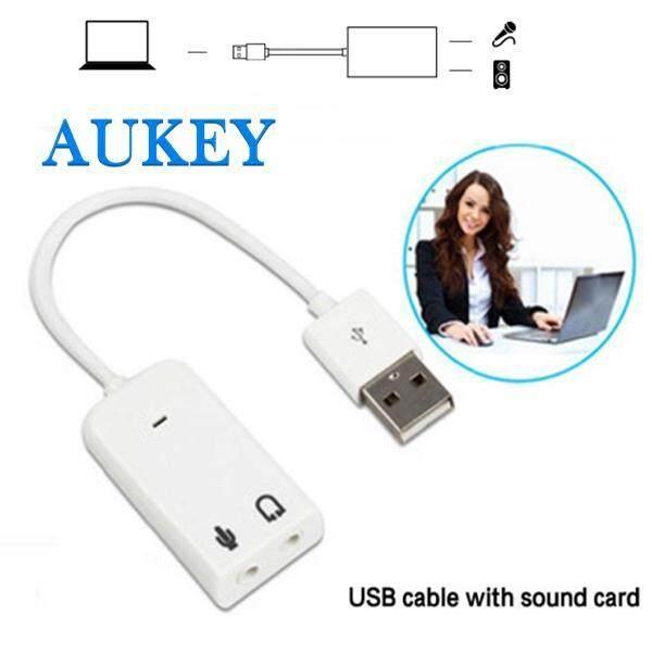 Bộ chuyển đổi Âm Thanh Adapter Thẻ 3D Card Âm Thanh Adapter USB 2.0 Chất lượng cao 3.5mm Audio 7.1 Kênh Máy Tính Laptop MÁY TÍNH