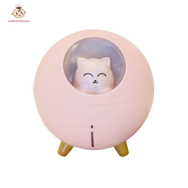 Essential Oil Diffuser Air Fresher Fogger Pet Cat Ultrasonic Air Humidifier Car Mist Maker Singapore