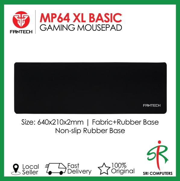 Fantech MP64 Basic XL Speed Edition Gaming Mousepad 640x210x2mm (MP09BK). Sri Computers Malaysia