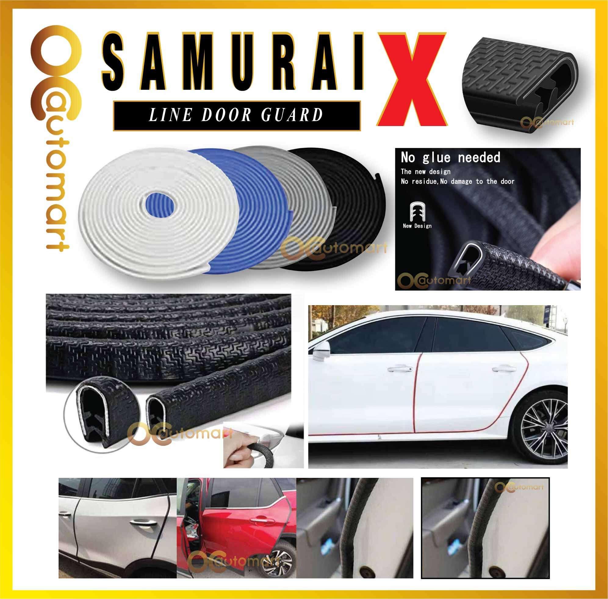 5M Universal Fit Rubber U Shape Door Edge Protection Car Door Edge Guards 16Ft