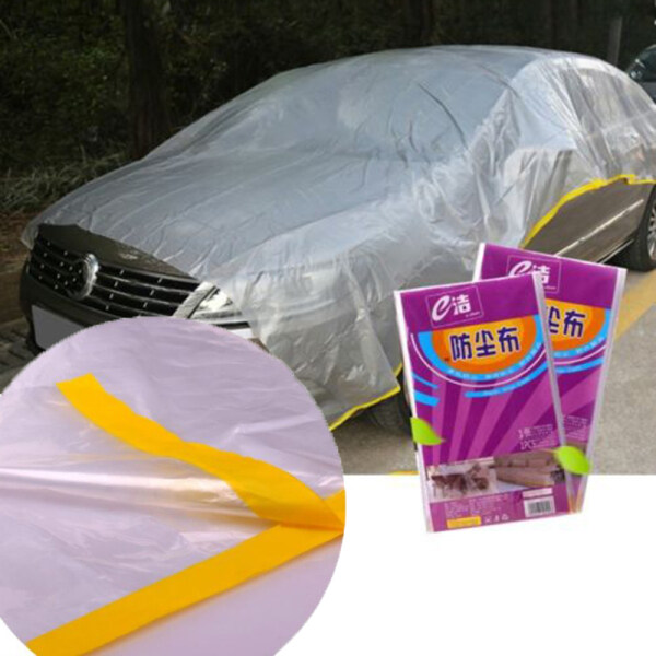 Large Protective sheet Cover Dust Sheet Outdoor Waterproof Transparent Protection Plastic Durable