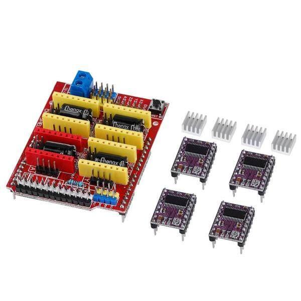 Bảng giá (Thông) CNC V3 Shield + Cho UNO R3 Cho Arduino Tương Thích Bảng + 4x Ti DRV8825 D3U1 Phong Vũ