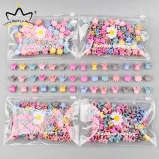 30 Cái/túi Kẹp Tóc Nhỏ Dễ Thương Dành Cho Bé Gái Kẹp Tóc Nhiều Màu Kẹp Tóc Hình Ngôi Sao Vương Miện Hoa Thỏ Hoạt Hình, Kẹp Trẻ Em