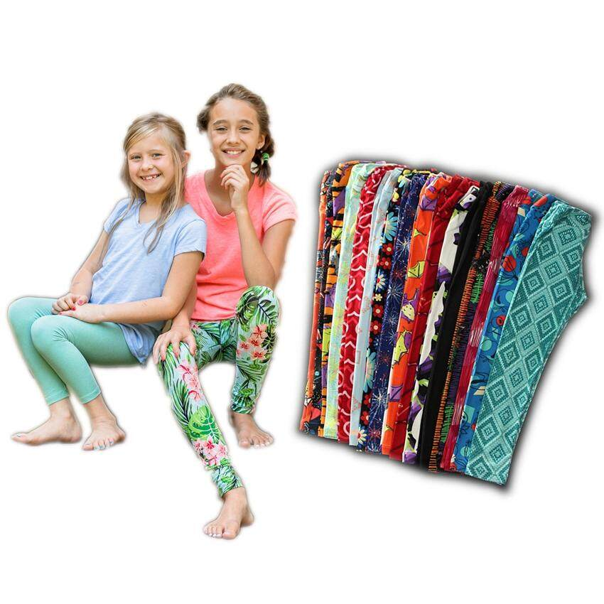 Export Brand Lularoe For Kids Ultra Stretchy Super Soft Girl Casual Sport Leggings By Fitmall.