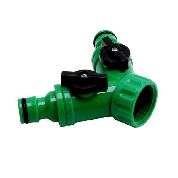 LALANG Connector Resealable Tape Quick Coupling Drip Irrigation System Adapter Valve Garden Irrigation