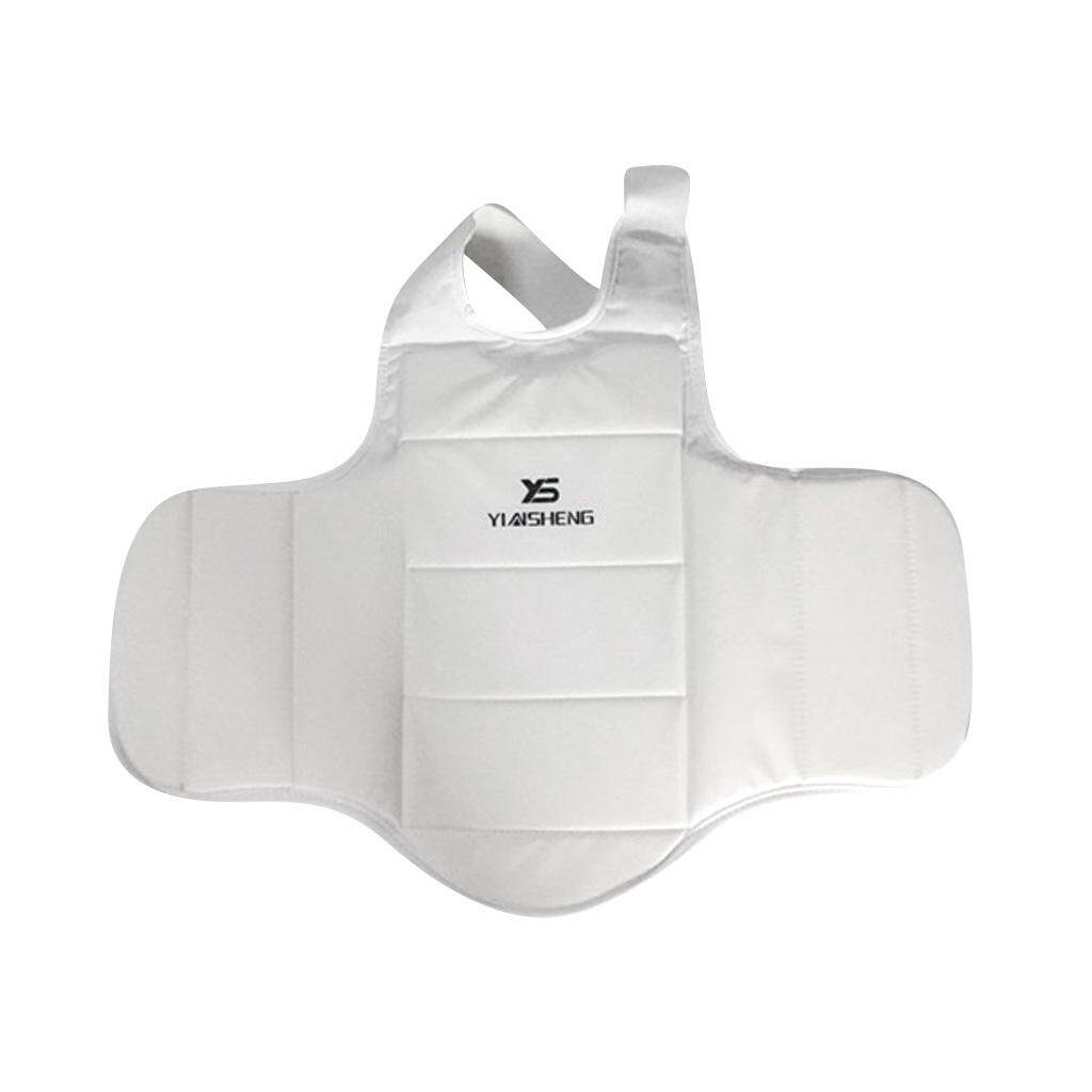 Flameer Padded Karate Chest Guard Martial Arts Sparring Mma Body Protector Shield By Flameer.