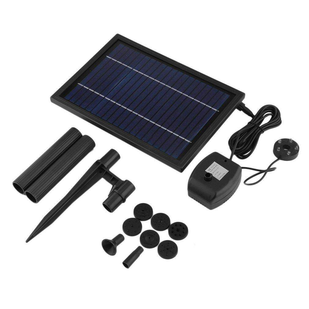 Promotion SP025 Modern Mini Solar Powered Solar Panel Fountain Pool Garden Watering Pump