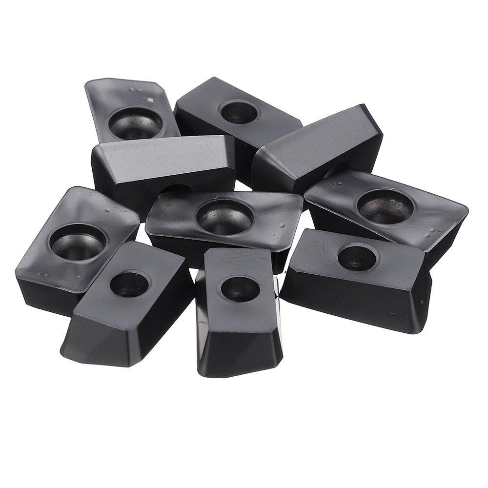 10pcs HRC52 RPMW1003/RDMT1204/APMT1135/APMT1604 Carbide Insert For Face Mill Cutter CNC Turning Tool