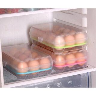 Tiếp Thị Sản Phẩm Giảm Giá 2020 NEW Spot [Hourser] 1 Hộp Đựng Trứng 15 Ngăn Hộp Đựng Tủ Lạnh Hộp Đựng Trứng, Hộp Đựng Thực Phẩm Hộp Bảo Quản Thực Phẩm Nhà Bếp thumbnail