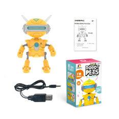 Robot DEERC Cho Trẻ Em Đồ Chơi Cho Bé Trai Hoặc Bé Gái-Robot Giáo Dục Có Đèn LED Tương Tác Nói Chuyện Sáng, Quà Tặng Thông Minh Cho Trẻ Mới Biết Đi