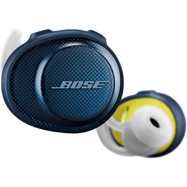 Bose SoundSport Free Wireless In-Ear Headphones (Navy/Citron) Singapore