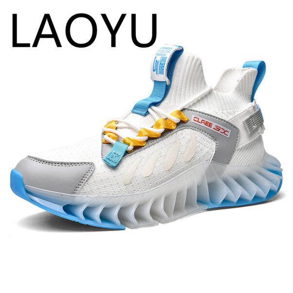 Giày Chạy Mới LAOYU Giày Thể Thao Đệm Lưỡi Cho Nam Thể Thao Thoáng Khí Giày Ngoài Trời Đào Tạo Thể Thao Đi Bộ Sneakers giá rẻ