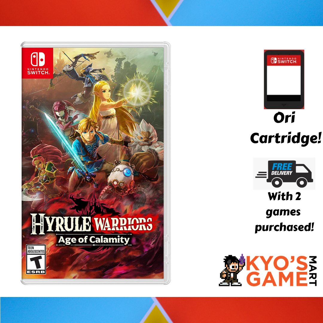 Nintendo Switch Hyrule Warriors Age Of Calamity Asian Mde New Lazada