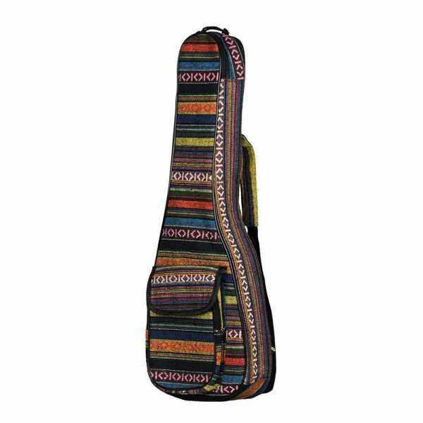 Special National Style 23 Ukelele Ukulele Uke Bag Backpack Case 6mm Cotton Padding Durable Colorful with Adjustable Shoulder Strap for Concert Ukeleles Malaysia