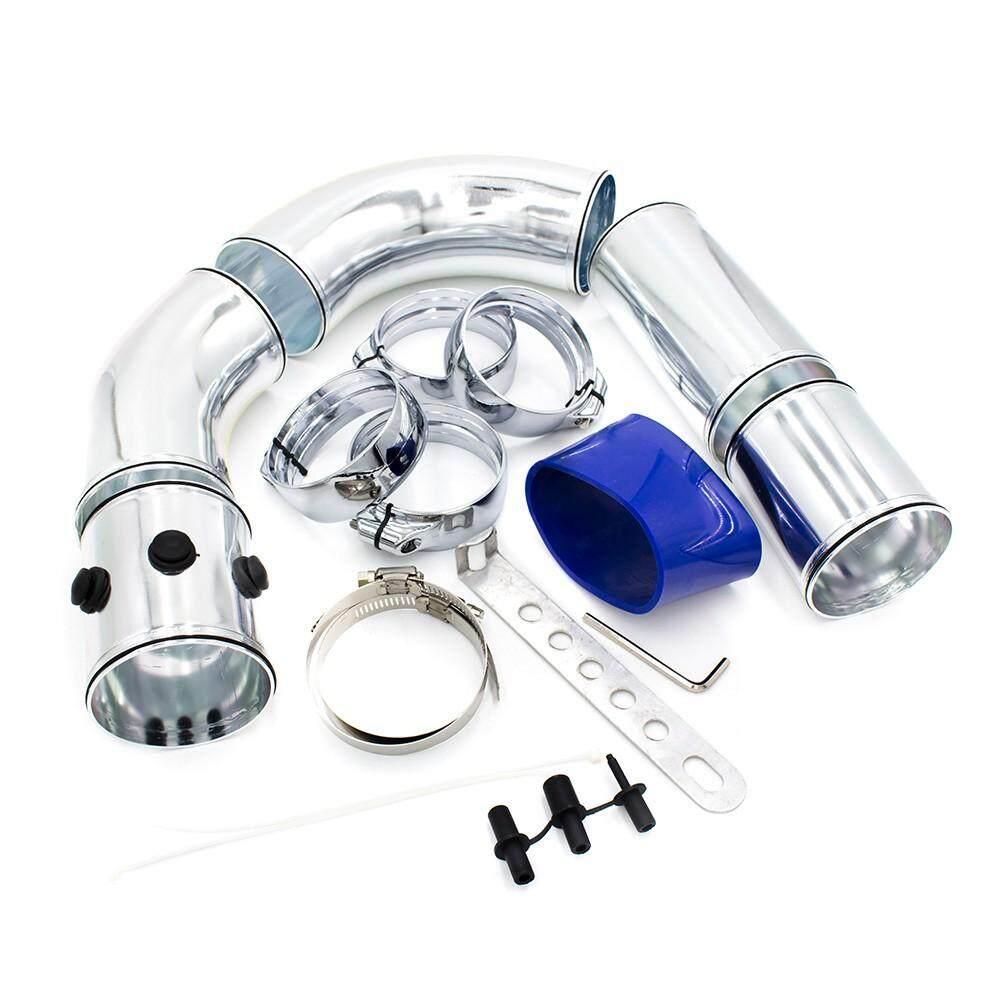 Universal 3 76 Mm Pipa Masuk Udara Aluminium Aloi Pipa Intake Kit Turbo Langsung Dingin Filter Udara Sistem Injeksi By Bx-Racing.