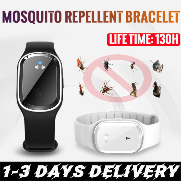 Dropship Anti Mosquito Capsule Pest Insect Bugs Repellent Bracelet Ultrasound Mosquito Repellent Wristband Kids Adult