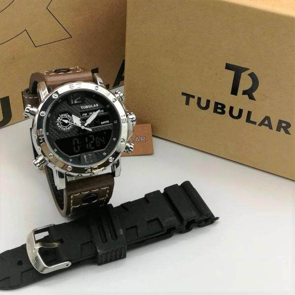 TR TUBULAR DIGITAL + ANALOG MEN WATCHES Malaysia