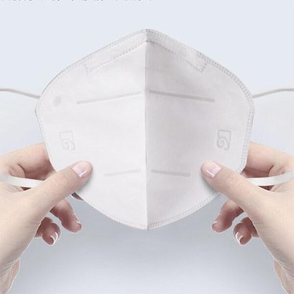 JosheLife 2/5pcs KN95 Facial Cover Disposable Anti-fog, Dust-proof, Breathable PM2.5 Men Women hot sale
