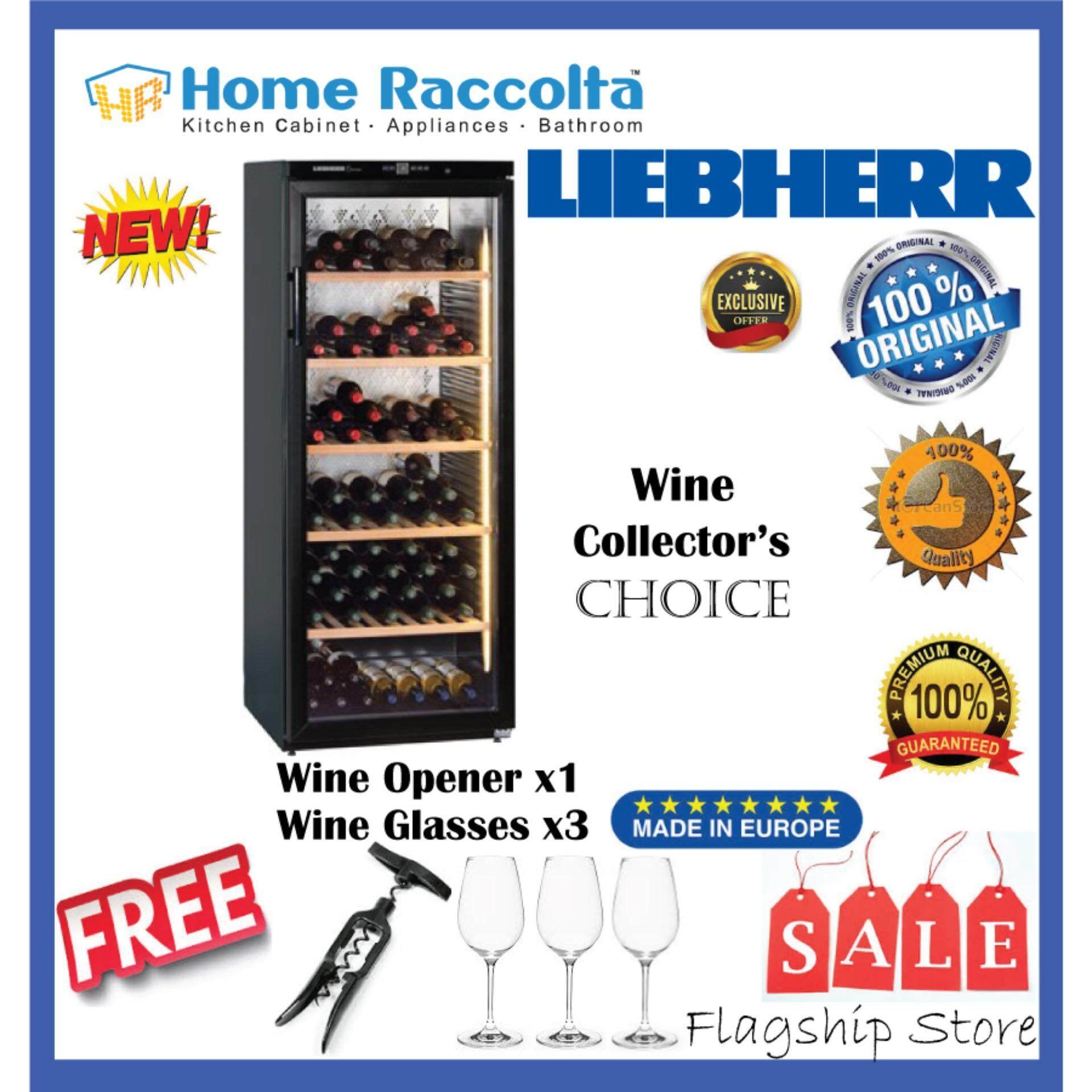 Liebherr Barrique Wine Chiller Wkb 4112 Barrique Wine Cellar Wkb4112 (168bottles) By Home Raccolta.