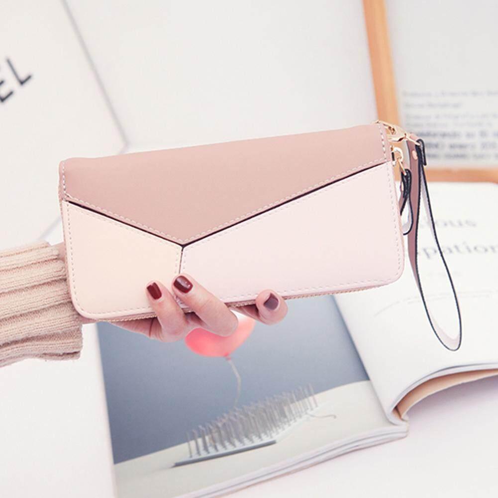 Retro Fashion Ladies Long Wallet PU Leather Coin Pocket Change Wallet Purse