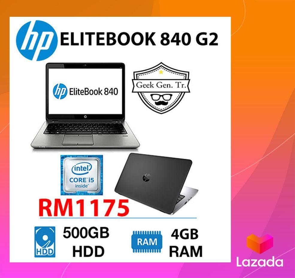 HP ELITEBOOK 840 G2 CORE i5-5th Gen 4GB RAM 500GB HDD 14 INCH Malaysia