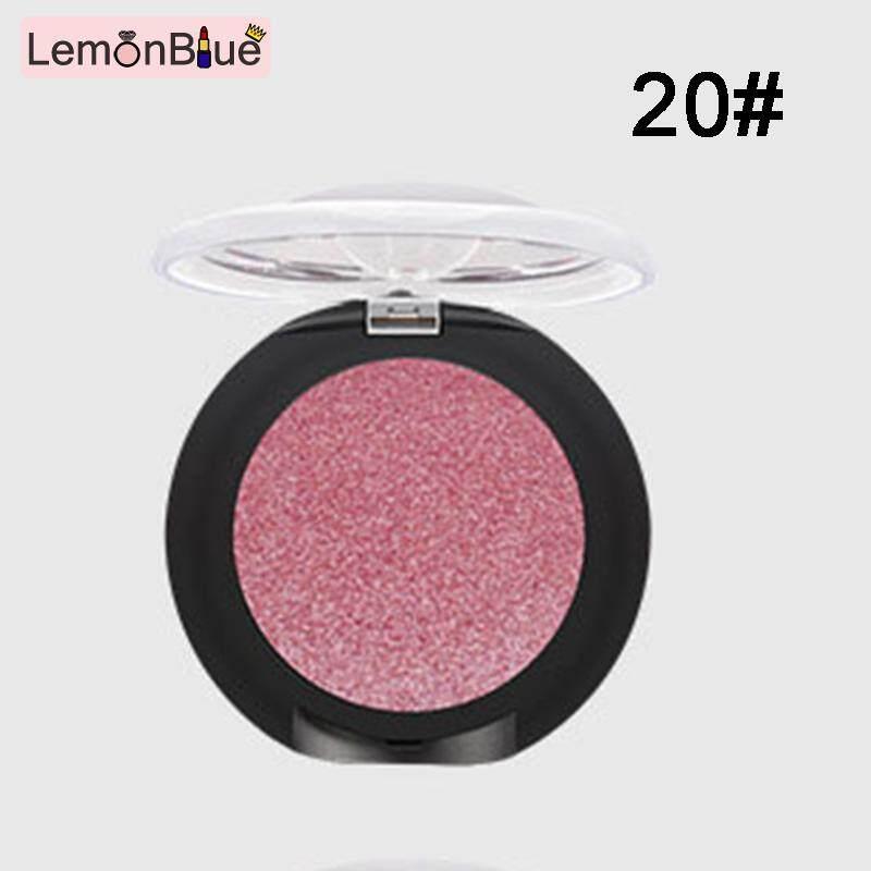 Lemonblue Pudaier Pembayang Mata Berkilau Palet Warna Tunggal Tahan Air Mengkilap Shimmer Perona Mata Makeup Kosmetik