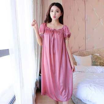 Kangsiwen สตรีชุดนอนชุดนอนชุดนอนชุดนอนชุดนอนแขนสั้น Night ชุด