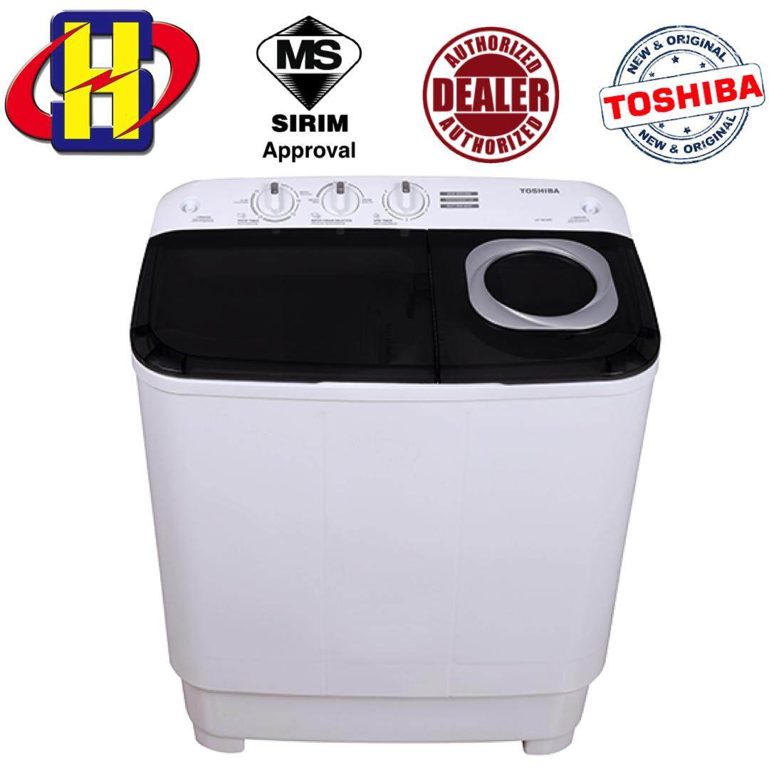 Toshiba Washing Machine VH-H85MM 7.5 KG Semi Auto Washer Washing Machine