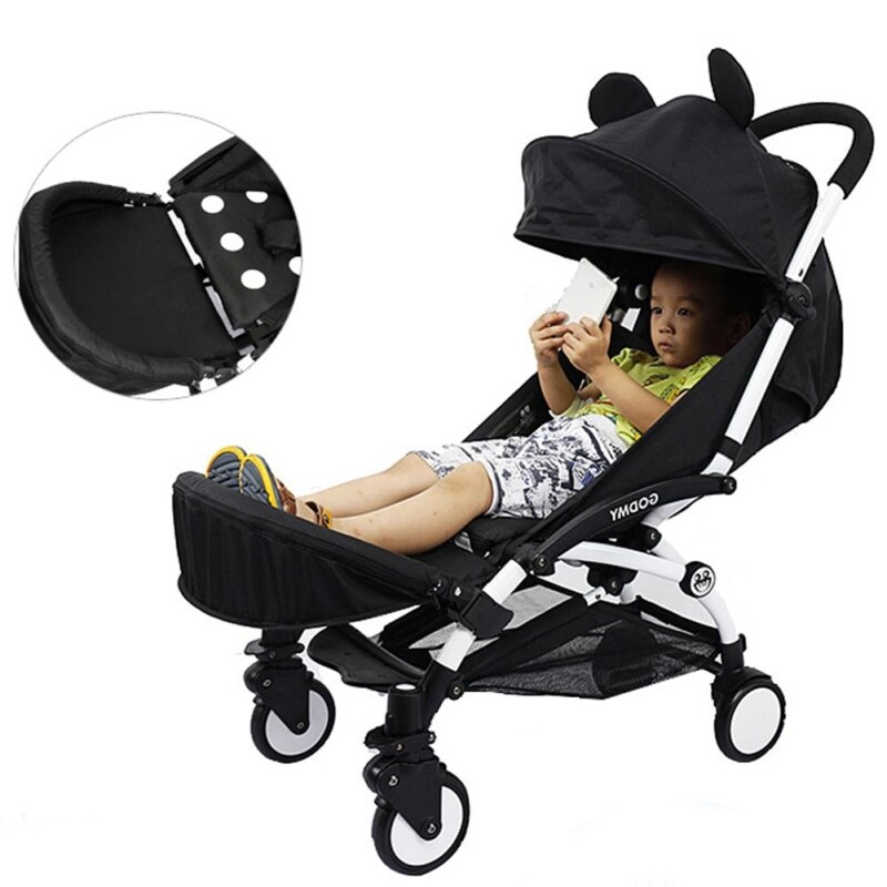 Baby Stroller Armrest Foot Support Stroller With Umbrella Accessories Singapore