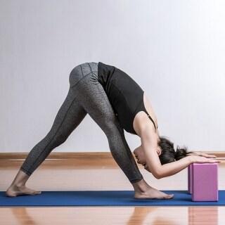 EVA Yoga Block Brick Pilates Sports Exercise Gym Foam Stretching Aid Body Shaping Health Training for Women thumbnail