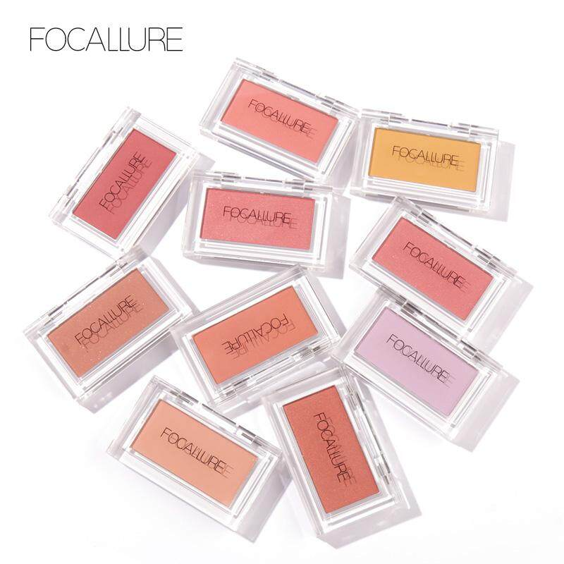 Focallure Single Blush Face Cheek Nude Natural Pressed Powder Long Lasting Blusher By Focallure Official Store.