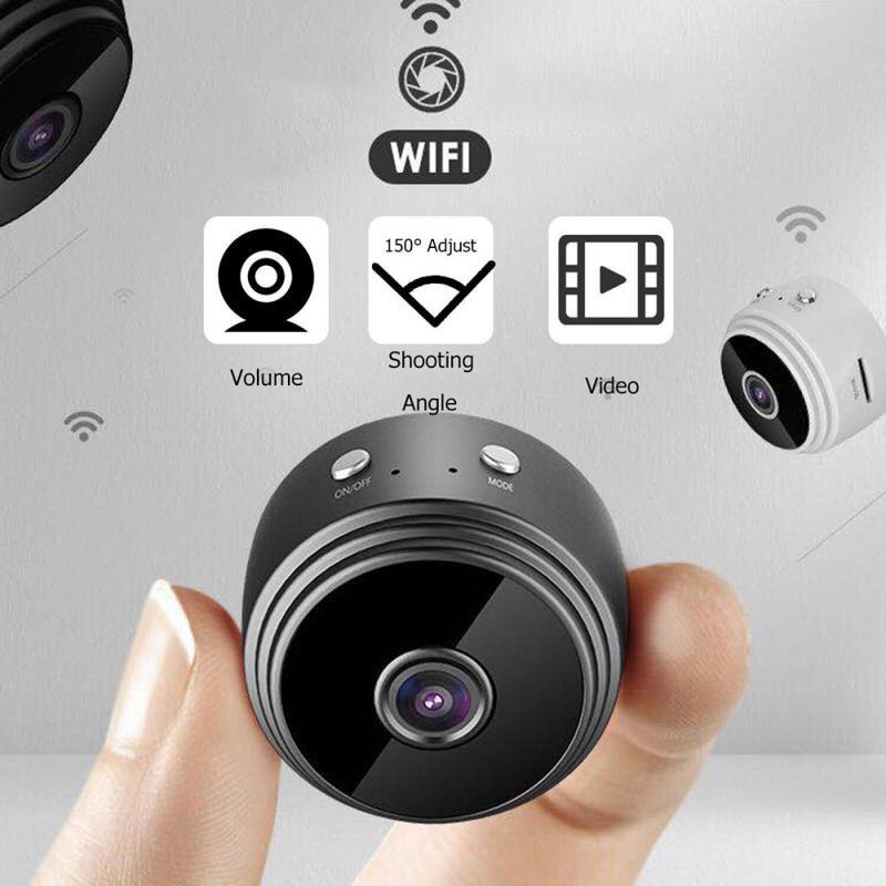 Catron【còn Hàng】 Camera Mini A9 Màn Hình Mạng IP WiFi Không Dây An Ninh Cam Camera P2P An Ninh Gia Đình HD 1080P WiFi
