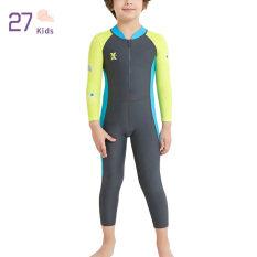 27Kids Baby Boy Đồ Bơi Kid Girls Wetsuit Áo Tắm Chống Tia UV Cho Bể Bơi Bãi Biển