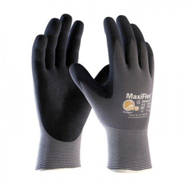ORIGINAL Electrical Glove MaxiFlex Ultimate Safety Gloves with nitrile coat breathable electrician precision maxi-flex maxi flex ATG general sarung tangan elektrik getah original forklift scaffolder oil and gas