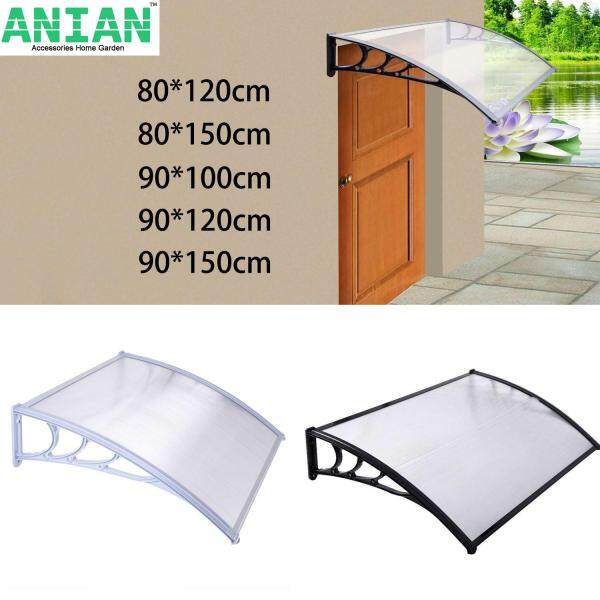 ANIAN  New Door Canopy Awning Rain Shelter Front Back Porch Outdoor Shade Patio Roof