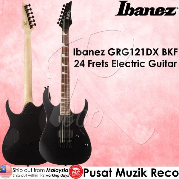 Ibanez GRG121DX BKF 24 Frets Electric Guitar Black Flat Malaysia