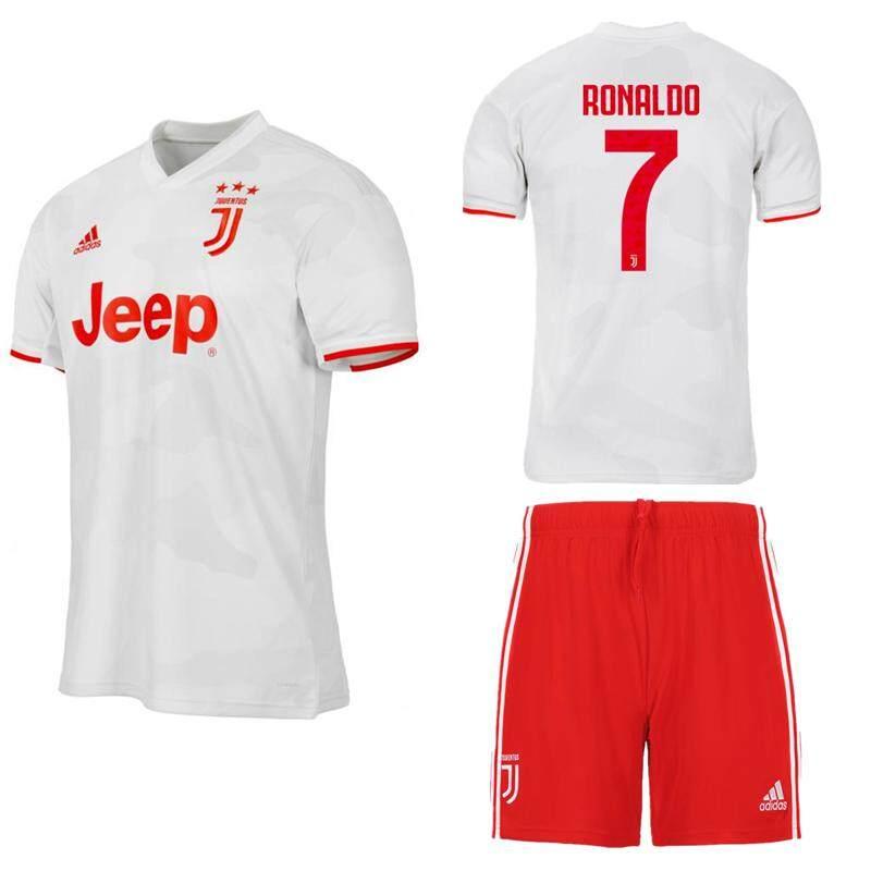timeless design f6270 445fe 2019/2020 Children Top Quality Juventus Kids Kit No.7 RONALDO away Football  Jersey Kit NO.8 RAMSEY white soccer Shirt free shorts No.10 DYBALA Boys ...