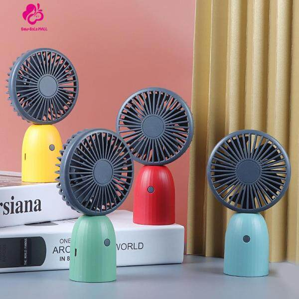 Baby-Bala Mall Mini Handheld USB Fan Small Charger Silent Fan Desktop Fan Air Cooler Singapore