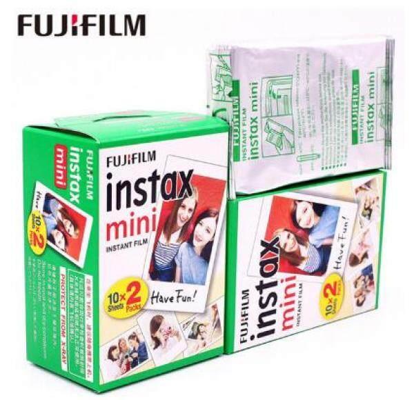 Giá 10-50 Sheets Fuji Fujifilm Instax Mini 11 9 Phim Viền Trắng 3 Inch Rộng Phim Cho Máy Ảnh Lấy Ngay Mini 8 9 11 7 S 25 Giấy Ảnh