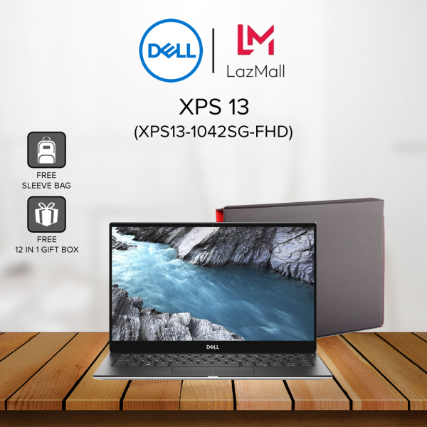 Dell XPS 13 (XPS13-1042SG-FHD) 13.3 FHD Laptop Silver ( i3-10110U, 4GB, 256GB SSD, Intel, W10 ) Malaysia
