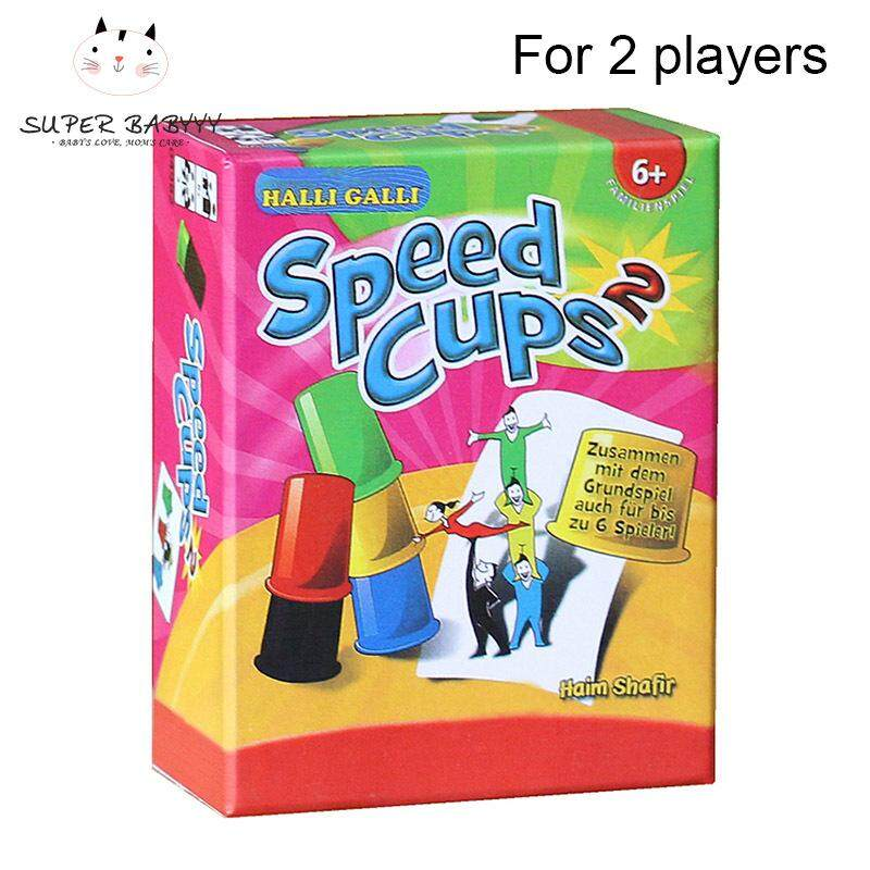 SBY Card Games Speed Cups Playing Cards Game Family Children Board Games