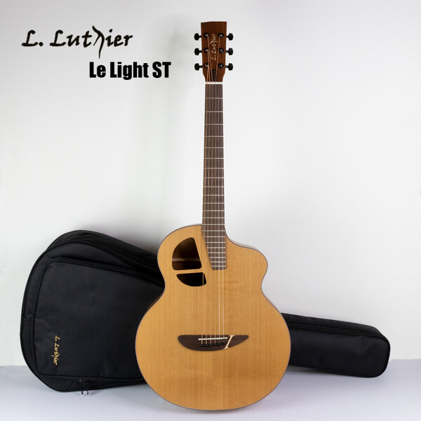 L.Luthier Le Light ST Entry Level Solid Top Acoustic Guitar Malaysia