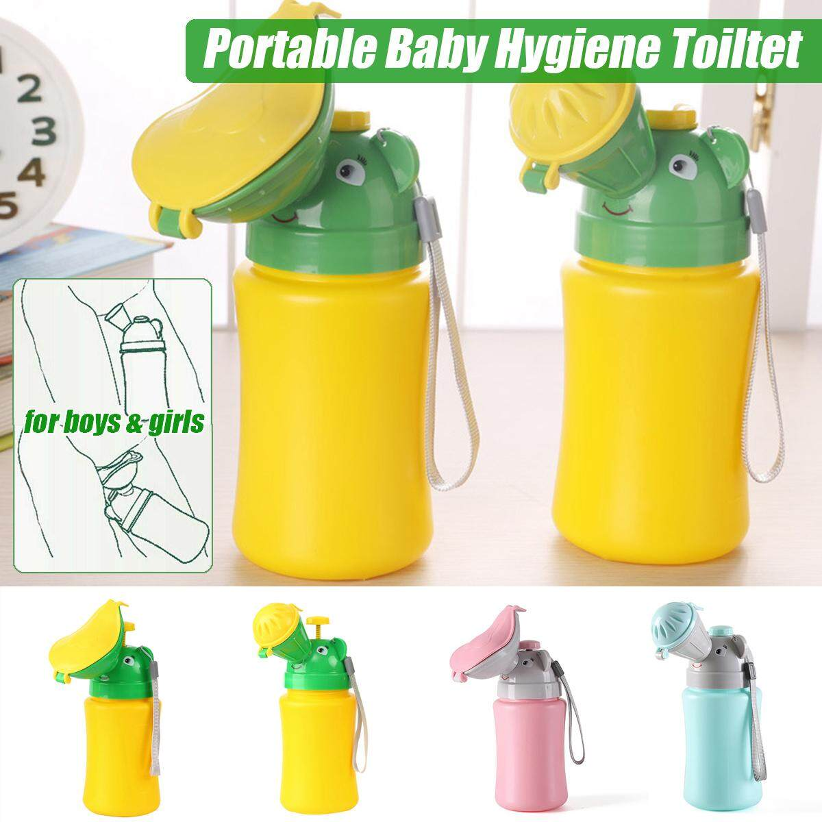 Portable Hygiene Toilet Urinal Boys Girls Pot Car Travel Anti-leakage Potty New