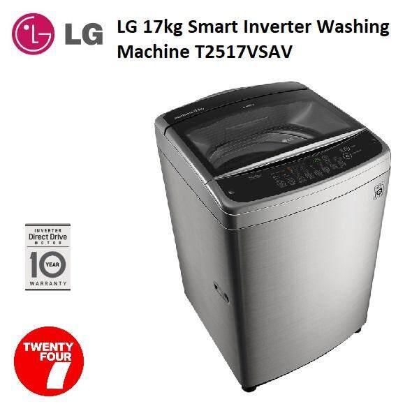 LG 17kg Smart Inverter Washing Machine T2517VSAV