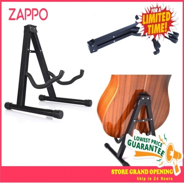 ZAPPO Universal A_Frame Adjustable Folding Electric Acoustic Bass Guitar Stand Floor Rack Holder Malaysia